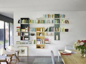 Sangiacomo MODO modulaire kasten hangende boekenkast