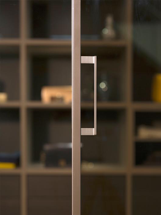 Noteborn schuifdeur NANO met glas detail
