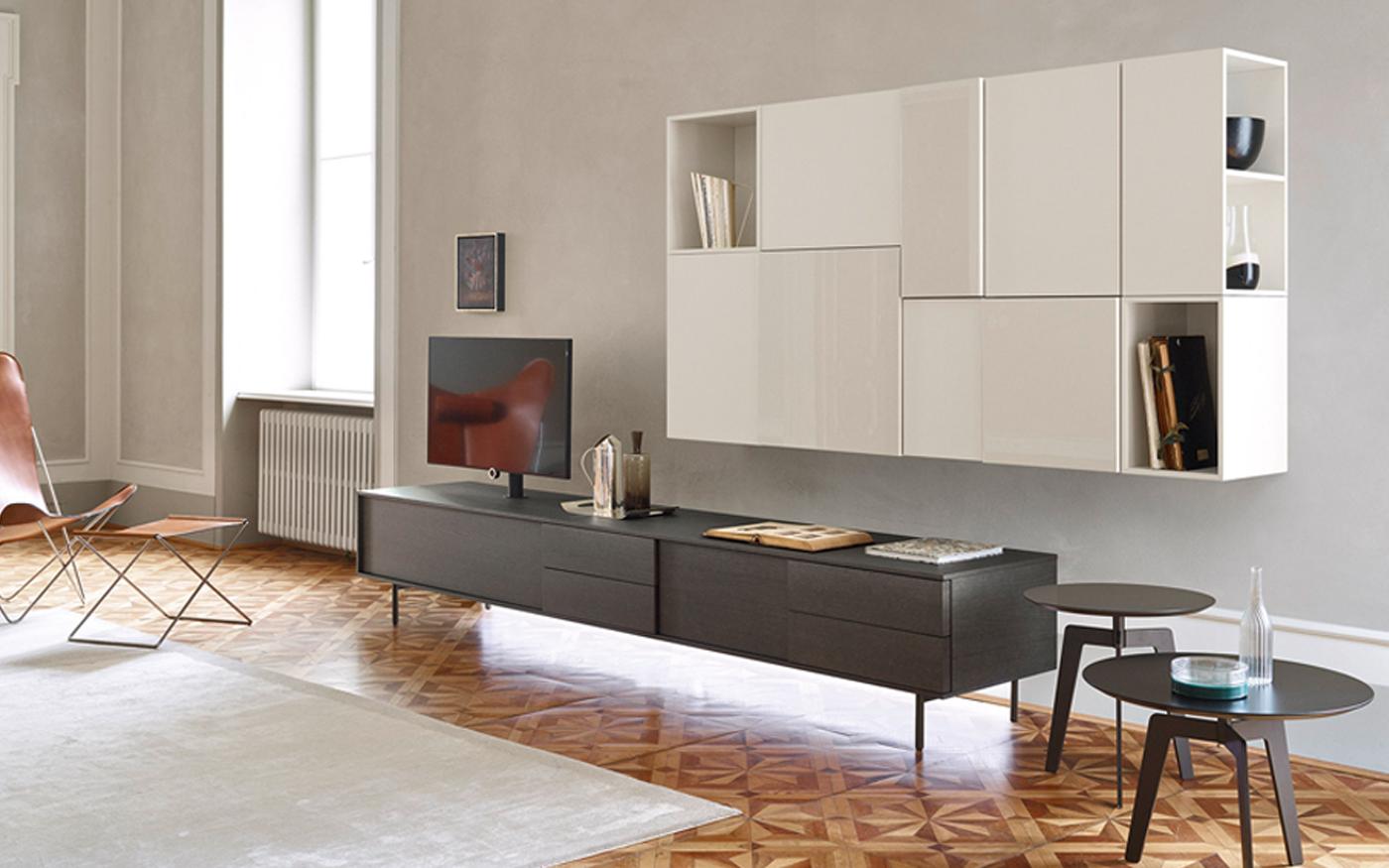 Sangiacomo_LAMPO Tv-meubel op poten